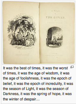 A tale of two cities book picture